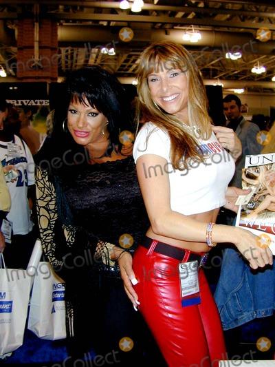 Alexandra Silk Photo - East Coast Video Show in Atlantic City NJ September 30  2003 - October 1 2003 Vanessa Del Rio  Alexandra Silk Atlantic City Convention Center Photo Bybruce CotlerGlobe Photos Inc 2003