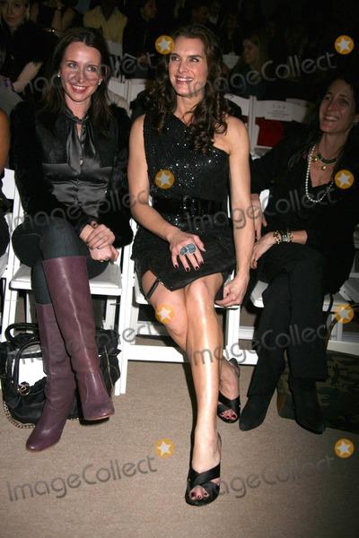 Naeem Khan Photo - Mercedes-benz Fashion Week Fall 2010 Naeem Khan Fashion Presentation - Celebs Bryant Park NYC 02-18-2010 Photos by Sonia Moskowitz Globe Photos Inc 2010 Brooke Shields