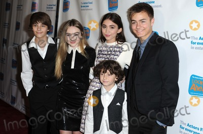 Corey Fogelmanis Photo - Corey Fogelmanis Sabrina Carpenter Rowan Blanchard August Maturo Peyton Meyer attending the Actors Funds Looking Ahead Awards Held at the Taglyan Center in Hollywood California on December 4 2014 Photo by D Long- Globe Photos Inc