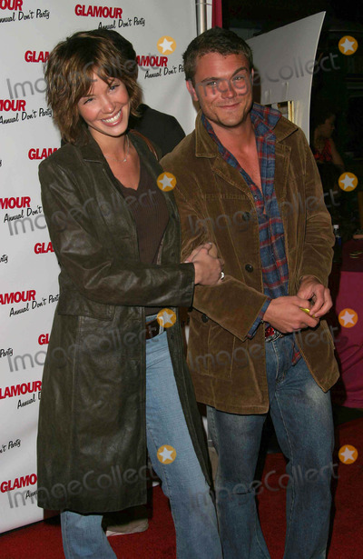Ashley Scott Photo - Ashley Scott and Clayne Crawford - Glamour Dont Party - Shakeys Pizza Hollywood CA - 05082003 - Photo by Nina PrommerGlobe Photos Inc2003