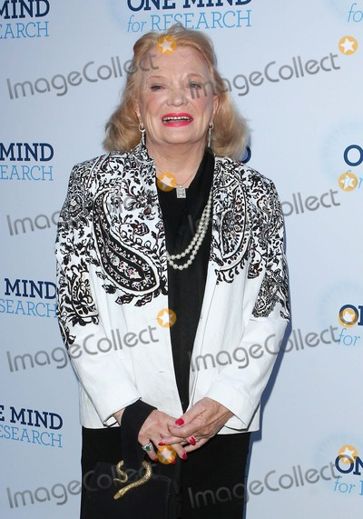 Gena Rowlands Photo - Gena Rowlands attends Circle of Hope Gala For One Mind For Research Gala on 18th September 2012 at the Beverly Hills Hotelbeverly Hills Causaphoto TleopoldGlobephotos