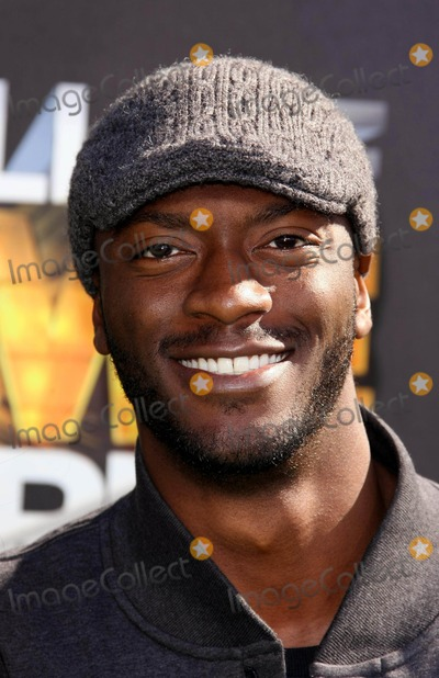 Aldis Hodge Photo - Aldis Hodge Actor 1st Annual Hall of Game Awards Hosted by the Cartoon Network the Barker Hanger Santa Monica CA 02-21-2011 photo by Graham Whitby Boot-allstar - Globe Photos Inc 2011
