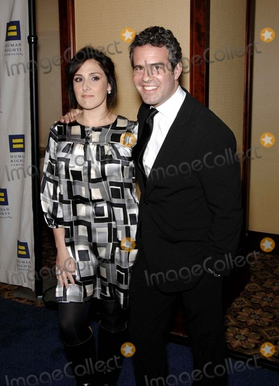Andy Cohen Photo - Ricki Lake and Andy Cohen During the Human Rights Campaigns Annual Los Angeles Gala Held at the Hyatt Century Plaza Hotel on March 15 2008 in Los Angeles Photo by Michael Germana-Globe Photosinc