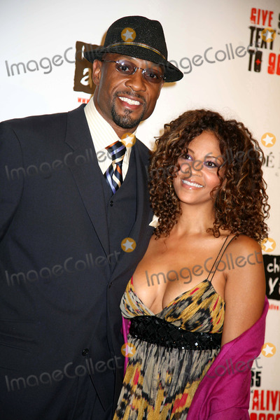 Alonzo Mourning Photo - The Black Ball 2008 Benefiting Keep a Child Alive Thehammerstein Ballroom NYC November 13 08 Photos by Sonia Moskowitz Globe Photos Inc 2008 Alonzo Mourning and Wife Tracey