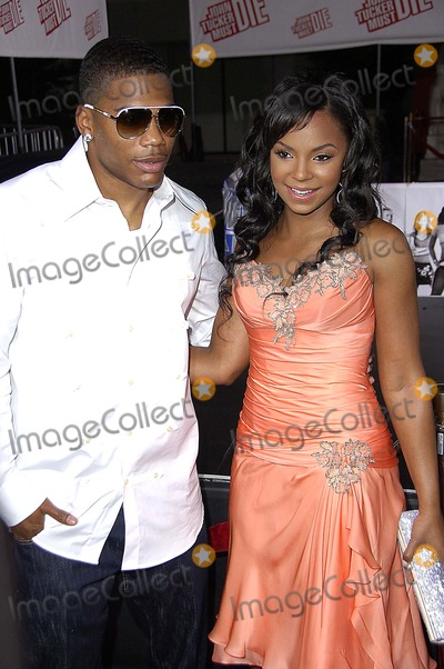 Ashanti Douglas Photo - Nelly and Ashanti Douglas During the Premiere of the New Movie From 20th Century Fox John Tucker Must Die Held at Graumanns Chinese Theatre on July 25 2006 in Los Angeles Photo by Michael Germana-Globe Photos