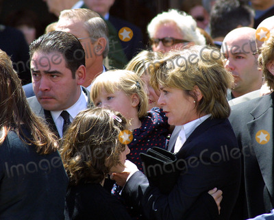 Heather Menzies Photo - Emeril Lagasse Heather Menzies and Daughter Memorial Service For Actor Robert Urich St Charles Catholic Church North Hollywood CA April 19 2002 Photo by Nina PrommerGlobe Photos Inc2002