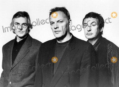 David Gilmour Photo - Pink Floyd Rick Wright David Gilmour Nick Mason Photo Supplied by Globe Photos