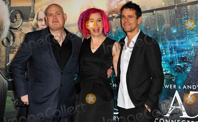 Andy Wachowski Photo - Andy Wachowski Lana Wachowski Tom Tykwer attending the Los Angeles Premiere of Cloud Atlas Held at the Graumans Chinese Theatre in Hollywood California on October 24 2012 Photo by D Long- Globe Photos Inc