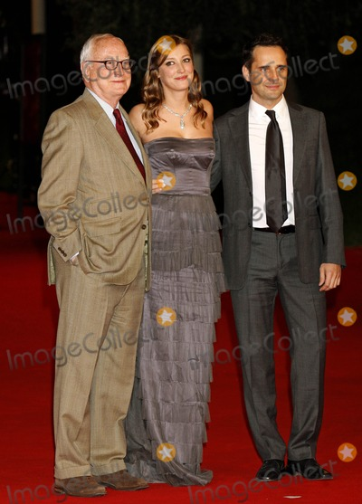Alexandra Maria Lara Photo - James Ivory Alexandra Maria Lara Jorge Drexler Director Actress Composer the Premiere of the City of Your Final Destination at the 4th Rome International Film Festival in Rome  Italy 10-16-2009 Photo by Kurt Krieger-allstar-Globe Photos Inc