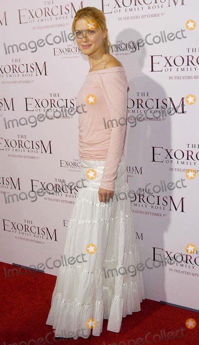 Emily Rose Photo - World Premiere of the Exorcism of Emily Rose Cinerama Dome Hollywood CA 09-07-05 Photo David Longendyke-Globe Photos Inc 2005 Suzanna Urszuly