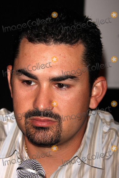 Adrian Gonzalez Photo - -14-08 Adrian Gonzalez Press Confidence For All-star Game at Grand Hyatt Hotel Photos by John Barrett-Globe Photosinc