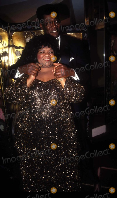 Nell Carter Photo - 251993 New York National Hero Award Nell Carter and Clarence Clemons Photo by Mitchell LevyrangefinderGlobe Photos Inc 1993 L6837ml Nellcarterretro