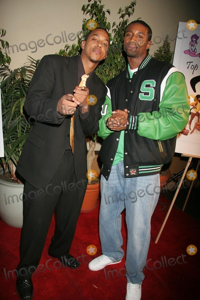 Andre Johnson Photo - Top X 2007 Calendar Launch Party Hosted by Wesley Jonathan and Denyce Lawton the Highlands Hollywood CA 02-23-2007 Andre Johnson - Magic Johnsons Son and Wesley Jonathan Photo Clinton H Wallace-photomundo-Globe Photos Inc