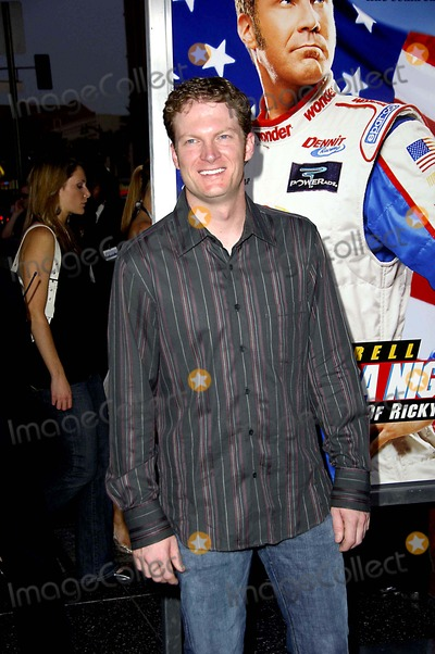 Dale Earnhardt Jr Photo - Talladega Nights the Ballad of Ricky Bobby Premiere at the Graumans Chinese Theater Hollywood California 07-26-2006 Photo Michael Germana  Globe Photos Inc 2006 Dale Earnhardt Jr