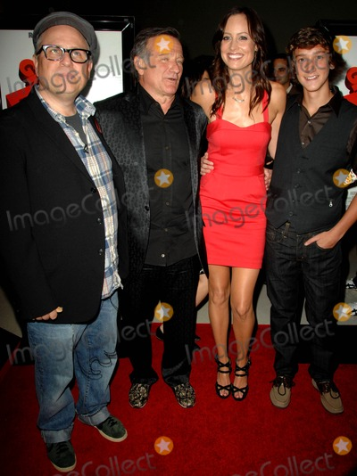 Alexie Gilmore Photo - Bobcat Goldthwait Robin Williams Alexie Gilmore Evan Martin attends the Los Angeles Premiere of  Worlds Greatest Dad Held at the Landmark Theatre in Los Angeles California on August 13 2009 Photo by David Longendyke-Globe Photos Inc 2009