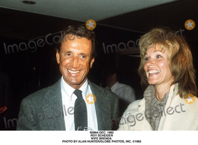 Alan Hunter Photo - Dec 1983 Roy Scheider Wife Brenda Photo by Alan HunterGlobe Photos Inc