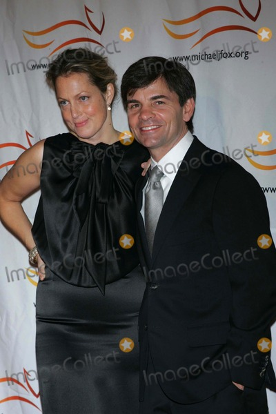 Ali Wentworth Photo - GEORGE STEPHANOPOULOS AND WIFE ALI WENTWORTH arrive for the Michael J Fox Foundation for Parkinsons Research A Funny Thing Happened on the Way to Cure Parkinsons Benefit at the Waldorf Astoria Hotel in New York on November 13 2010Photo by Sharon NeetlesGlobe Photos IncK66794SN