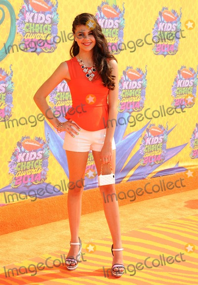 Amber Montana Photo - Amber Montana attending the Nickelodeons 27th Annual Kids Choice Awards Held at the Usc Galen Center in Los Angeles California on March 29 2014 Photo by D Long- Globe Photos Inc