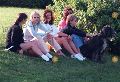 Kennedy Photo -  the Kennedys in Hyannisport Mass August 23 1997 Carolyn Bessette-kennedy Photolaura CavanaughGlobe Photos
