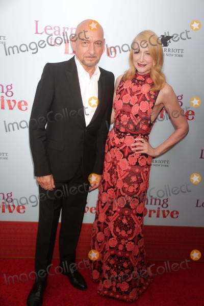 Ben Kingsley Photo - Ben Kingsleypatricia Clarkson at NY Premiere of Learning to Drive at Paris Theatre 4 W58st 8-17-2015 John BarrettGlobe Photos