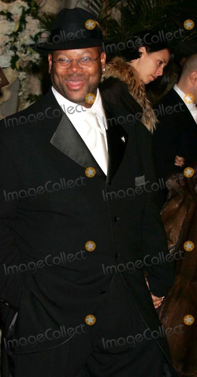 Jimmy Jam Photo - Star Jones and AL Reynolds Wedding Arrivals at St Bartholomews Church in New York City 11132004 Photo by Rick MacklerrangefinderGlobe Photos Inc Jimmy Jam