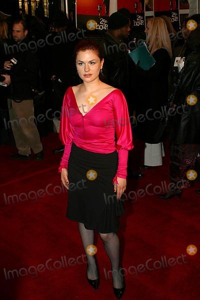Anna Paquin Photo -  25th Hour Premiere at the Ziegfeld Theatre New York City 12162002 Photo Rick Mackler Globe Photos Inc 2002 Anna Paquin
