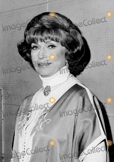 Agnes Moorehead Photo - Agnes Moorehead Photo by Irv Steinberg-Globe Photos Inc