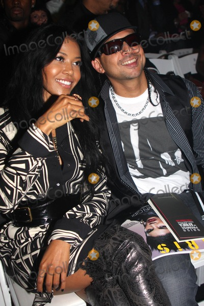 Amerie Photo - Amerie and Sean Paul Mercedes Benz Fashion Week Spring 2010 Thisday  Arise Magazine - Front Row and Backstage 9-11-2009 Photo by Barry Talesnick -Globe Photos Inc
