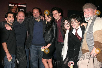 Angela Pupello Photo - I12998CHWWEST OF BROOKLYN LOS ANGELES PREMIERE SUNSET BLVD-THEATRE 68 HOLLYWOOD CA 021908JAMES MADIO ROBERT COSTANZO MEL RODRIGUEZ JOLEIGH FIOREAVANTI RONNIE MARMO ANGELA PUPELLO DANNY CISTONE-DIRECTOR AND JERRY BRENNAN PHOTO CLINTON H WALLACE-PHOTOMUNDO-GLOBE PHOTOS INC