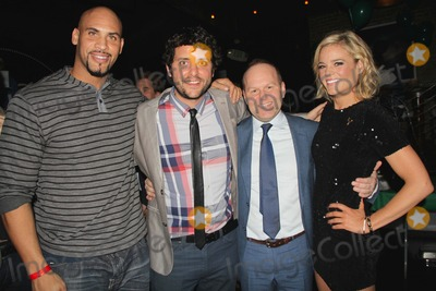 Aaron Steele-Nicholson Photo - Cinedopes Web Series World Premiere  Launch Party Busbys East Los Angeles CA 11182014 Jason Scott Jenkins Ben Gleib Aaron Steele Nicholson and Skyler Campbell Clinton H WallaceipolGlobe Photos Inc