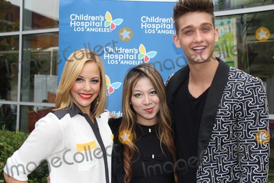 Alice Aoki Photo - 6th Annual Celebrity Blood Drive Benefiting Childrens Hospital Los Angeles Hollywood CA 12052014 Amy Paffrath Alice Aoki and Cody Saintgnue Clinton H WallaceipolGlobe Photos Inc