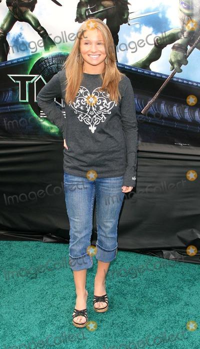Ashley Rose-Orr Photo - Ashley Rose Orr - Teenage Mutant Ninja Turtles - Premiere - Graumans Chinese Theater Hollywood California - 03-17-2007 - Photo by Nina PrommerGlobe Photos Inc 2007