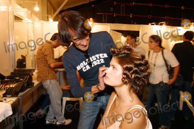 Isabeli Fontana Photo - K43749Celebrities attend day two of Rio Fashion Summer 2006 On the picture Model Isabeli Fontana on the backstage Isabeli though a smash hit as a teen model hasnt let success go to her head In fact she likes to keep her life simple and has a prudent eye on the future Isabeli is part of the Brazilian model invasion of the late 1990s and has already scored sexy spreads in serious publications from the Victorias Secret catalog to the Sports Illustrated swimsuit issue RIO DE JANEIRO BRAZIL6-15-2005PHOTO BY REJANE BARBOSA-CITYFILES-GLOBE PHOTOS INC 2005
