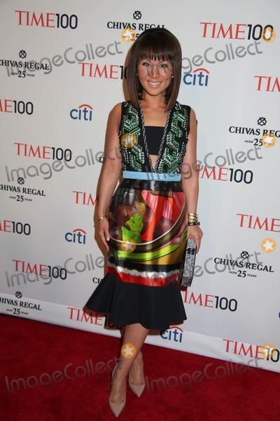 Alina Cho Photo - Time 100 Gala 2013 Time Warner Building NYC April 23 2013 Photos by Sonia Moskowitz Globe Photos Inc 2013 Alina Cho
