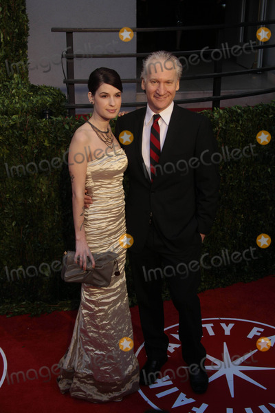 Bill Maher Photo - Tv Personality Bill Maher and Cara Santa Maria the 2010 Vanity Fair Oscar Party Held at the Sunset Tower Hotel in West Hollywood California on 03-07-2010 Photo by Alec Michael-Globe Photos Inc