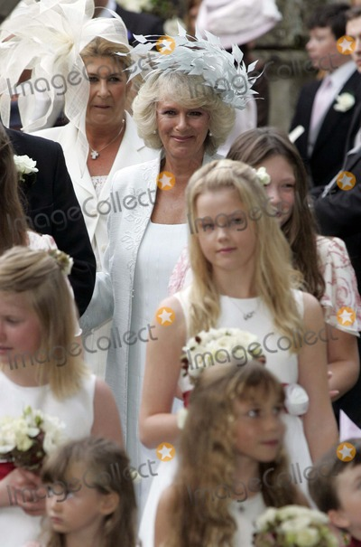 SARAH BUYS Photo - Tom Parker Bowles  Sarah Buys Wedding-stnicholas Church Rotherfield Greys Nrhenley-on-thames Oxfordshire England Uk Mark Chilton-globelinkukcom-Globe Photos Inc 001586 09-10-2005 Camilla Duchess of Cornwall