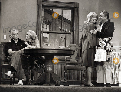 Sheila MacRae Photo - Art Carney the Jackie Gleason Show Spotlights the Honeymooners Tv Still Supplied by Globe Photos Inc Artcarneytretro Art Carney Jackie Gleason Sheila Macrae and Jane Lean