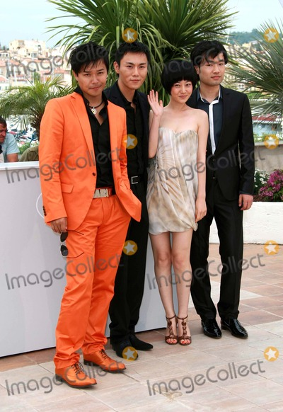 Tan Zhuo Photo - Wu Wei Chen Sicheng Tan Zhuo  Qin Hao Actors Spring Fever Photo Call at the 2009 Cannes Film Festival at Palais Des Festival Cannes France 05-14-2009 Photo by David Gadd Allstar--Globe Photos Inc 2009