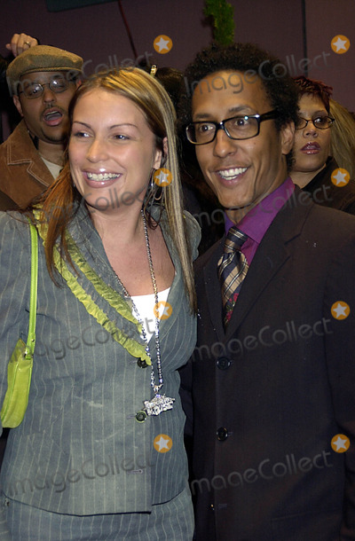 Angie Martinez Photo - Party to Celebrate the Re-opening of the Legendary Copacabana Nightclub in New York City 10172002 Photo by John KrondesGlobe Photos Inc G 2002 Angie Martineez and Andre Royo