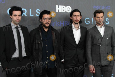 Adam Driver Photo - The New York Premiere of Girls January 9 2013 Nyu Skirball Center NYC Photos by Sonia Moskowitz Globe Photos Inc 2013 Alex Karpovsky Christopher Abbott Adam Driver Andrew Rannells