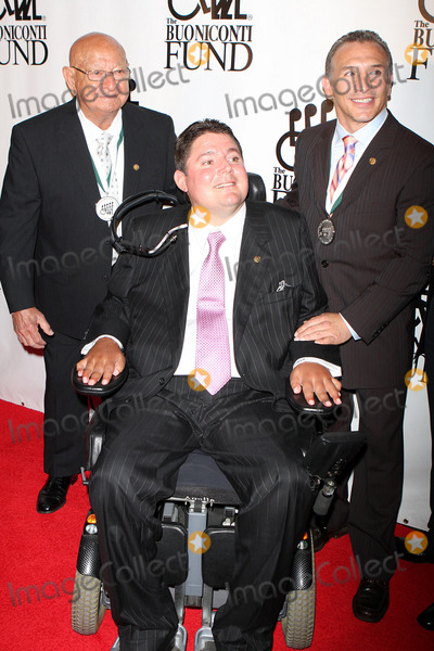 Angelo Dundee Photo - -22-08 Angelo Dundeemarc Buonicontirayboom Boommancin 2008 Great Sports Legends Dinner at Waldorf Astoria Photos by John Barrett-Globe Photosinc