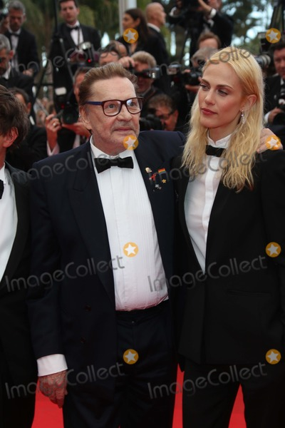 Aymeline Valade Photo - Actors Helmut Berger and Aymeline Valade Attend the Premiere of saint-laurent During the 67th Cannes International Film Festival at Hotel Majestic in Cannes France on 17 May 2014 Photo Alec Michael