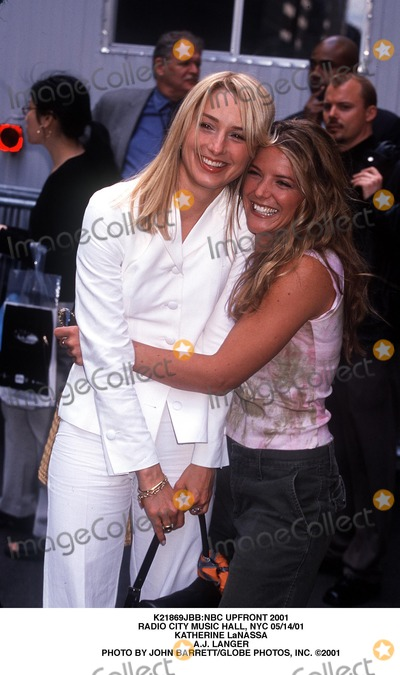AJ Langer Photo - nbc Upfront 2001 Radio City Music Hall NYC 051401 Katherine Lanassa Aj Langer Photo by John BarrettGlobe Photos Inc