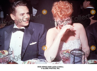 Desi Arnaz Photo - Desi Arnaz and Lucille Ball Globe Photos Inc