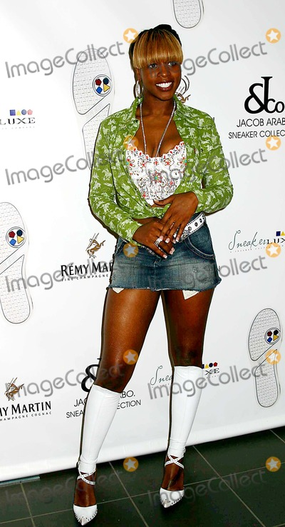 Remy Ma Photo - Launch Party For Sneakerluxe and Its Jacob  CO Sneaker Collection Manhattan Motors New York City 09-13-2005 Photo Mitchell Levy  Rangefinder  Globe Photos Inc 2005 Remy MA