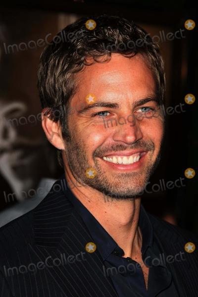 Paul Walker Photo - Paul Walker Actor Premiere of the New Movie From Universal Pictures Fast and Furious Held at the Gibson Amphitheatre on March 12 2009 in Los Angeles Photo by Graham Whitby Boot-allstar-Globe Photos Inc 2009