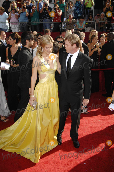 Andrea Bernard Photo - Andrea Bernard and Rick Schroder During the 60th Annual Primetime Emmy Awards Held at the Nokia Theatre on September 21 2008theatre  in Los Angeles  09-21-2008 Photo Michael Germana - Globe Photos Inc