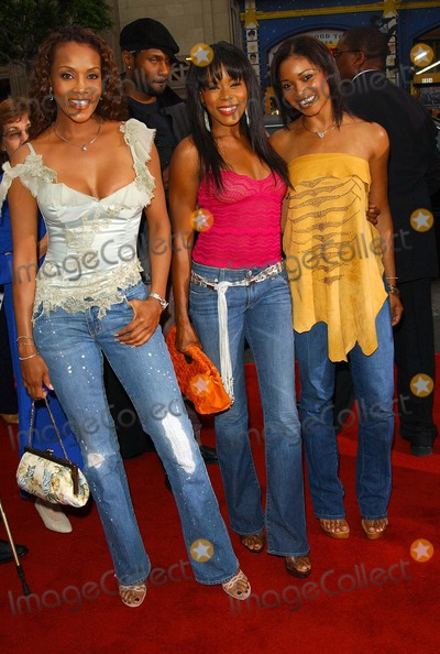 Elise Neal Photo - - Charlies Angels - Full Throttle - Movie Premiere - Graumans Chinese Theatre Hollywood CA - 06182003 - Photo by Fitzroy Barrett  Globe Photos Inc 2003 - Vivica a Fox Golden Brooks and Elise Neal