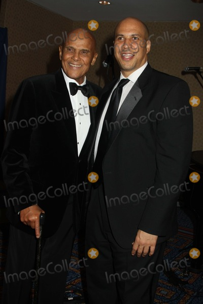 Harry Belafonte Photo - Exclusive Mayor Cory Booker Right Left Harry Belafonte attends the 97th Spingarn Award Dinner Marriott Marquis Hotel NYC 2152013 Photo Mitch Levy Photo by Mitch Levy- Globe Photos Inc