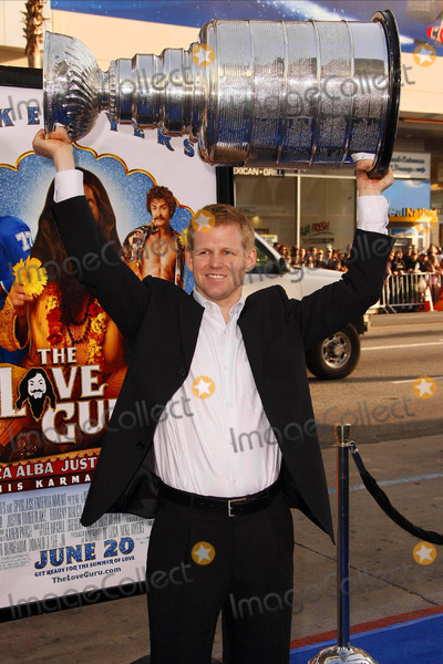 Chris Osgood Photo - Chris Osgood  Stanley Cup Ice Hockey Player  Cup the Premiere of the Love Guru at Graumans Chinese Theatre Hollywood CA 06-11-2008 Photo by Graham Whitby Boot-allstar-Globe Photos Inc K58567
